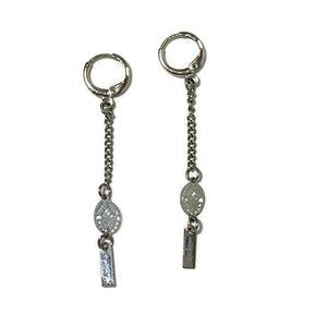 Jewelry - Silver tone dangle earrings